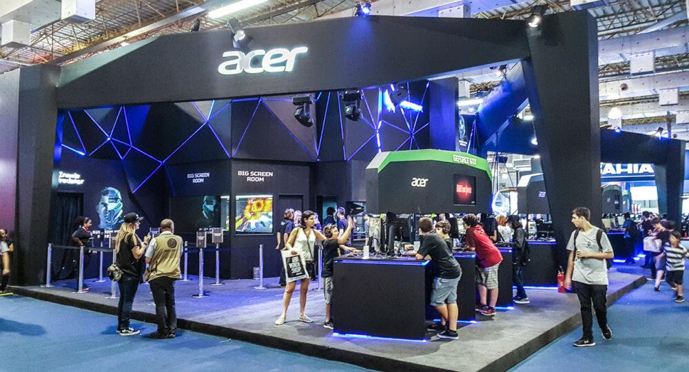 Resultado de imagem para Acer na BGS 2019